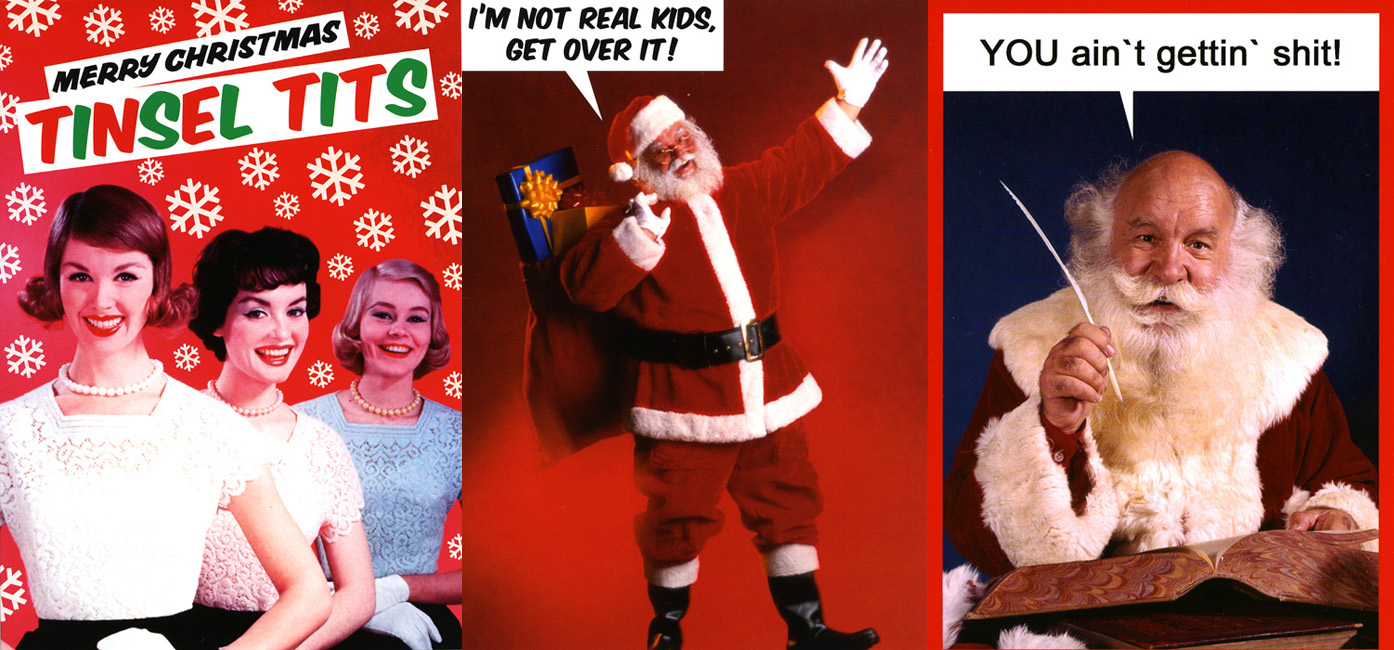 Rude & Offensive Christmas Cards