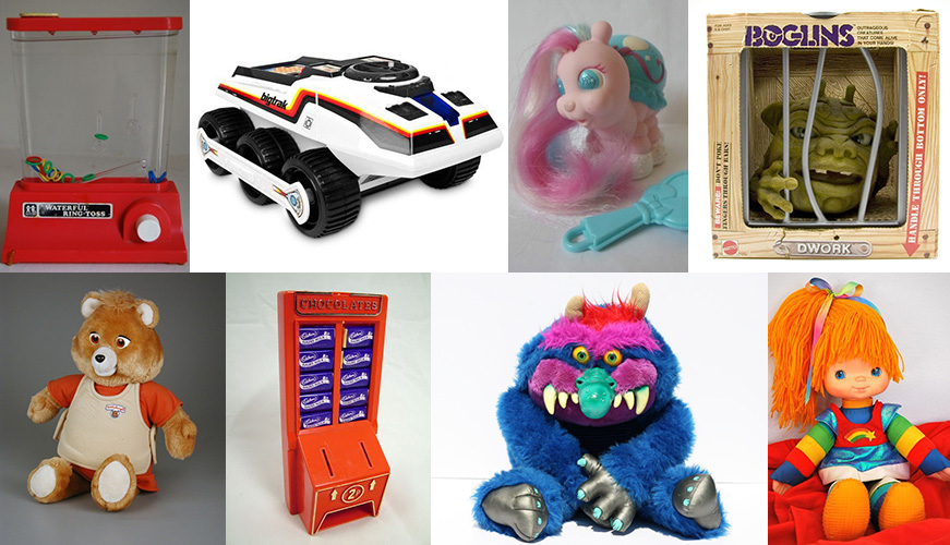 Classic 80s Toys : Do you remember any of these classic s toys
