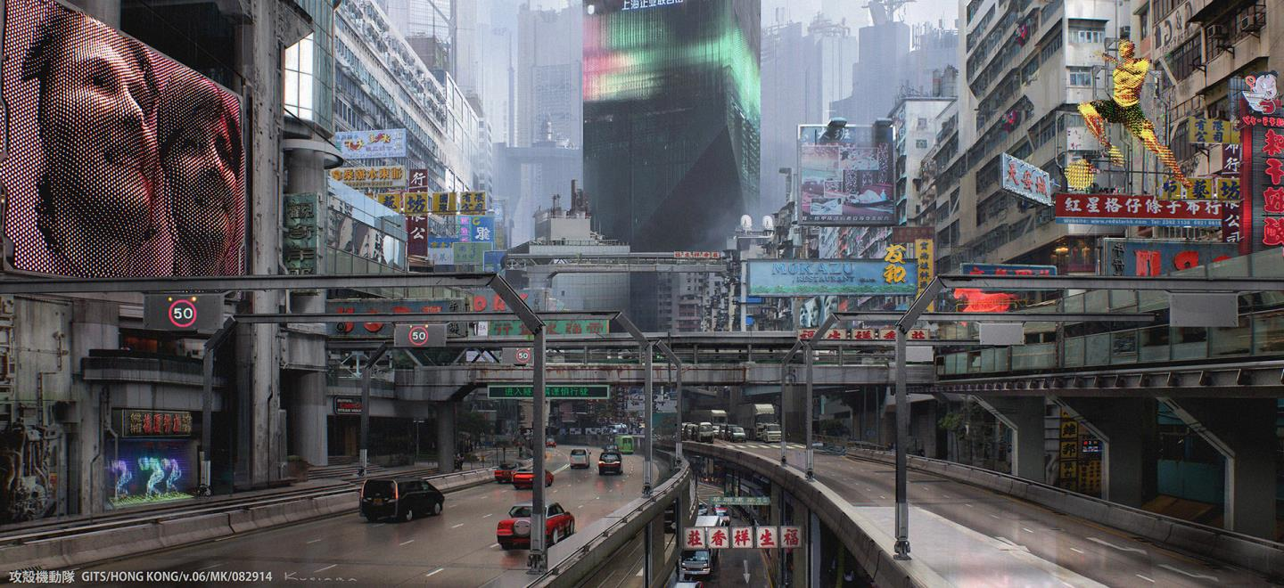 Concept Art For Ghost In The Shell