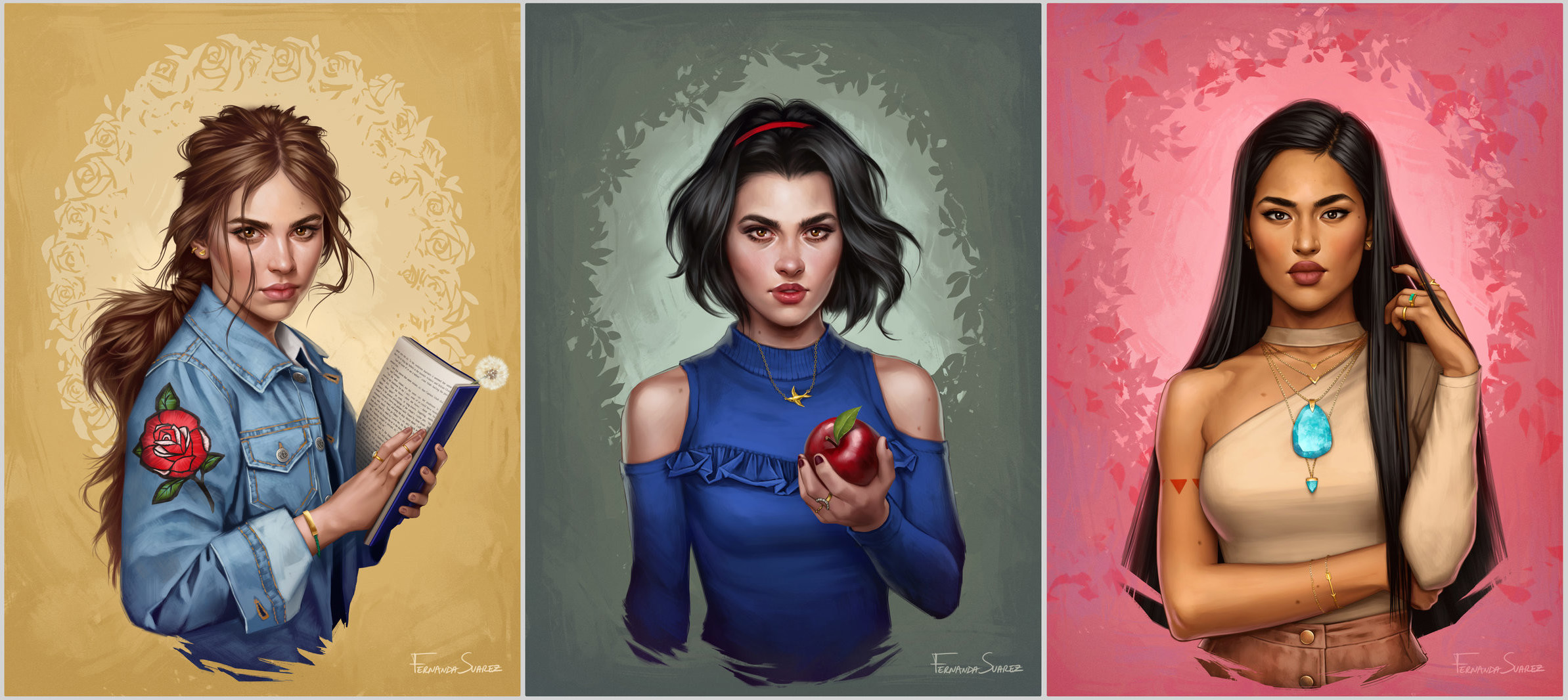 is this is what disney princesses would look like in